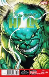 Savage Hulk (2014 series) #4, NM + (Stock photo)