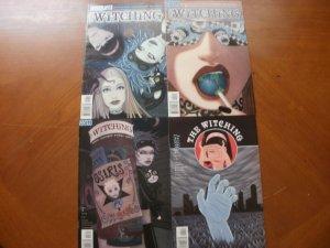 4 Near-Mint Vertigo Comic: THE WITCHING #1 2 3 4 (2004) Vankin Gallagher (Mature