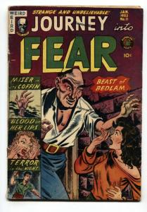 Journey Into Fear #11 Pre-code horror-Superior-Women being whipped-Violent