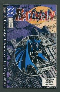 Batman #440  / 9.6 NM+   October 1989