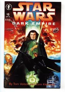 Star Wars: Dark Empire #6-1991-TOM VEITCH-CAM KENNEDY nm-