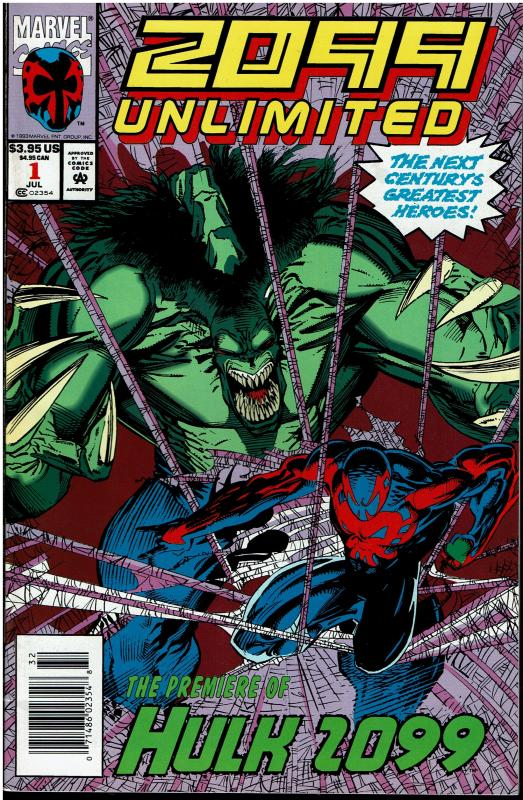 2099 Unlimited, 9.0 or better, 1st Hulk 2099