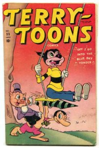 Terry-Toons #33 1945- Gandy Goose- Timely comic VG