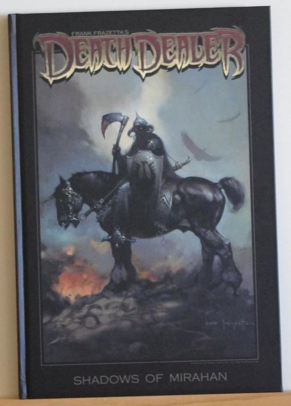 Frank Frazetta DEATH DEALER Shadows of M, HC book w slip case, NM, 2008, sealed