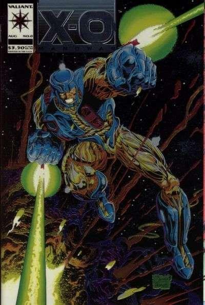 X-O Manowar (1992 series) #0, NM + (Stock photo)