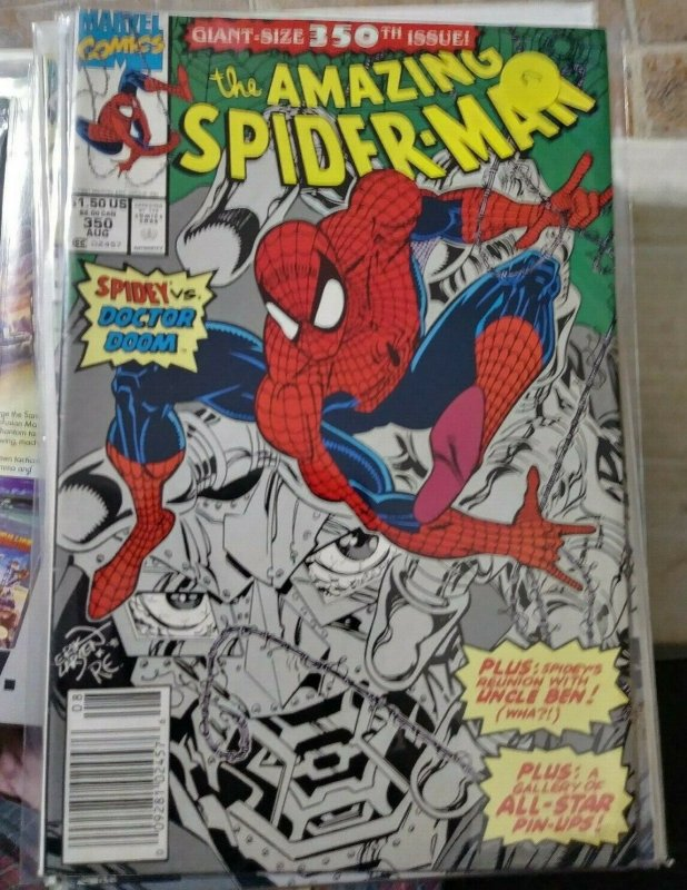 Amazing Spider-Man  #350 doctor doom -uncle ben ? mary jane  erik larsen