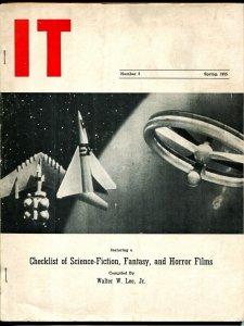IT #5 Spring 1955-Pogo-Walt Kelly-Walter W Lee Jr-historic 'zine-sci-fi-VG-
