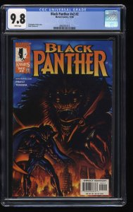 Black Panther (1998) #2 CGC NM/M 9.8 White Pages