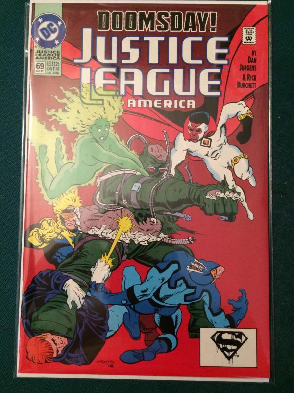 Justice League America #69 DOOMSDAY!