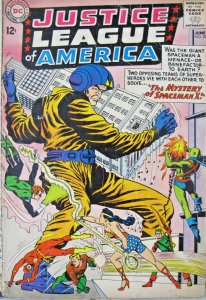 Justice League of America 1963 #20 DC Silver Age Comic Mystery of Spaceman X