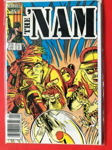 THE NAM V1 #2  1986 MARVEL 25 ANNIVERSARY / NEWSSTAND /  HIGH QUALITY