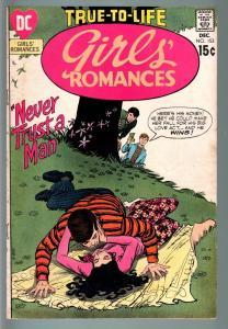 GIRLS' ROMANCES #153-D.C. ROMANCE-SILVER AGE-VG VG