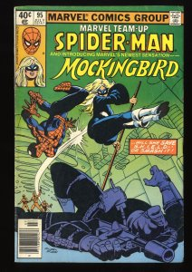 Marvel Team-up #95 VG 4.0 1st Mockingbird! Comics