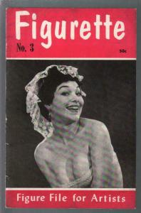 Figurette  #3 1950's-figure file for artists-cheesecake-pin-ups-VF