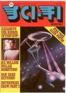 TV SCI FI MONTHLY 6  (1976) VF-NM MARTIN LANDAU (SPACE