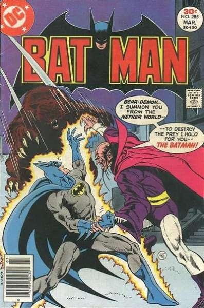 Batman (1940 series) #285, VG+ (Stock photo)
