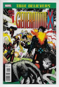 True Believers Generation X #1 (Marvel, 2017) NM