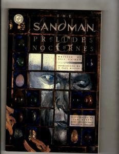 The Sandman: Preludes & Nocturnes DC Vertigo TPB Graphic Novel Comic Book CE4