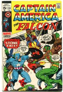CAPTAIN AMERICA AND THE FALCON #134 1971 MARVEL FN