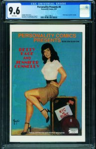 Personality Classics #8 CGC 9.6 BETTY PAGE issue!  2021118012