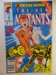 NEW MUTANTS # 95 LIEFELD HOT MOVIE