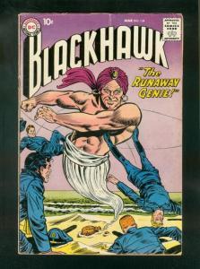 BLACKHAWK COMICS #134 1959-DC COMICS-RUNAWAY GENIE-vg cond VG