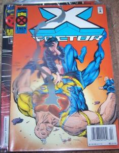 X FACTOR # 111  1995 MARVEL   lila cheney +guido+