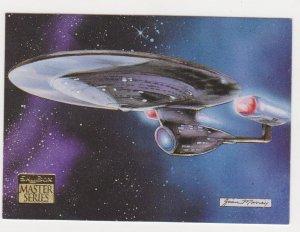 1993 Skybox Star Trek Master Series #76 USS Enterprise NCC 1701-C
