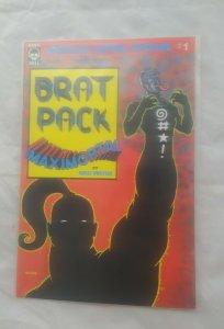 King Hell Comics Brat Pack Heroica Super Special #1 Maximortal rick veitch NM