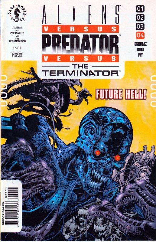 Aliens vs Predators vs Terminator # 1-4