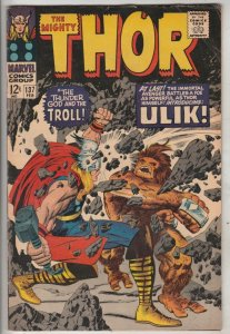 Thor, the Mighty #137 (Feb-69) FN Mid-Grade Thor
