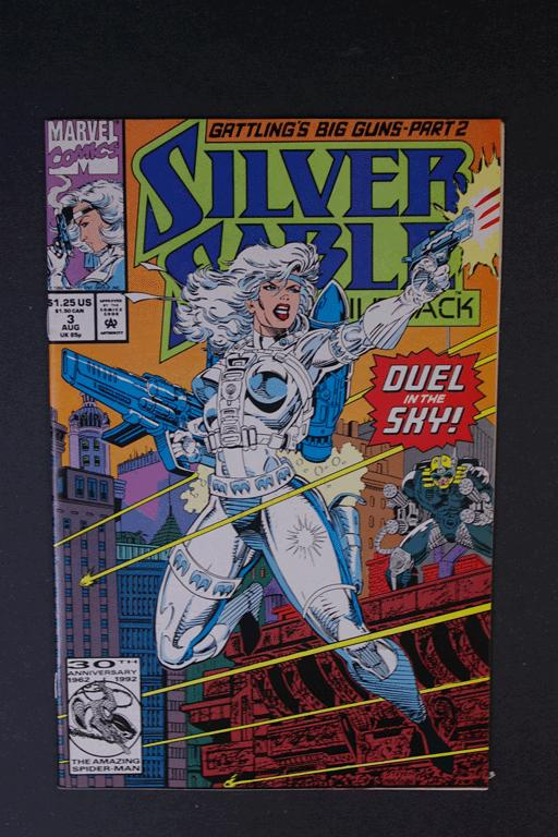 Silver Sable #3 August 1992, Marvel Comics