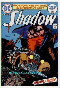 SHADOW #4, VF+ to NM, Michael Kaluta,  Who knows what Evil lurks, 1972,
