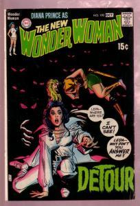 WONDER WOMAN #190 1970- DIANA PRINCE EYEBALL COVER - DC VG/FN