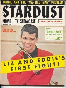 Stardust Movie And TV Showcase-Frankie Avalon-Elvis-Sept-1959