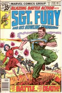 SERGEANT FURY 150 VF-NM Feb. 1979 COMICS BOOK
