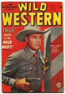Wild Western #10 1950- Canadian edition- Maneely- Charles Starrett VG