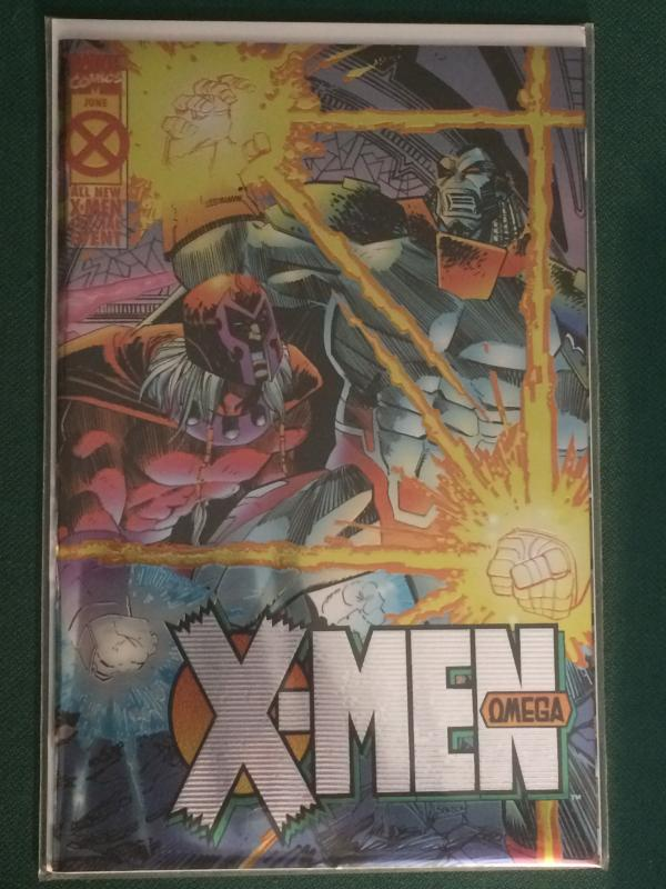 X-Men Omega #1 Metallic/Reflective cover Age of Apocalypse AOA