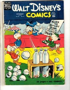 Walt Disney's Comics & Stories # 120 FN- Vol # 10 # 12 Dell Comic Book 1950 JL3