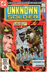 UNKNOWN SOLDIER 252 VF-NM June 1981 COMICS BOOK