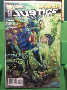 Justice League #2 The New 52