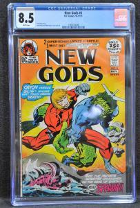 New Gods #5 (DC, 1971) CGC 8.5