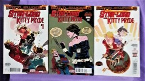 Secret Wars Battleworld STAR-LORD and KITTY PRYDE #1 - 3 (Marvel, 2015)!