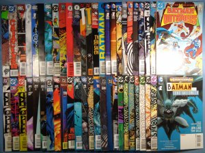 Lot of 50 Batman Comics Nightwing Catwoman Huntress Robin