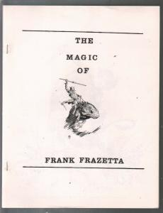 Magic of Frank Frazetta 1970's-full page illustrations-Tarzan-Pellucidar-Thunda-