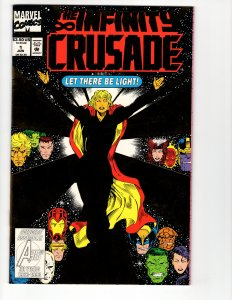 INFINITY CRUSADE#1 (NM) Modern Age Marvel ID#53L