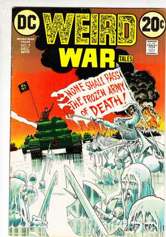 Weird War Tales #9 (Dec-72) VF/NM High-Grade