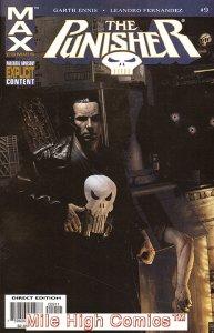 PUNISHER MAX (2004 Series) #9 Near Mint Comics Book