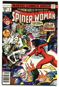 SPIDER-WOMAN #2-comic book 1st Morgan Le Fey