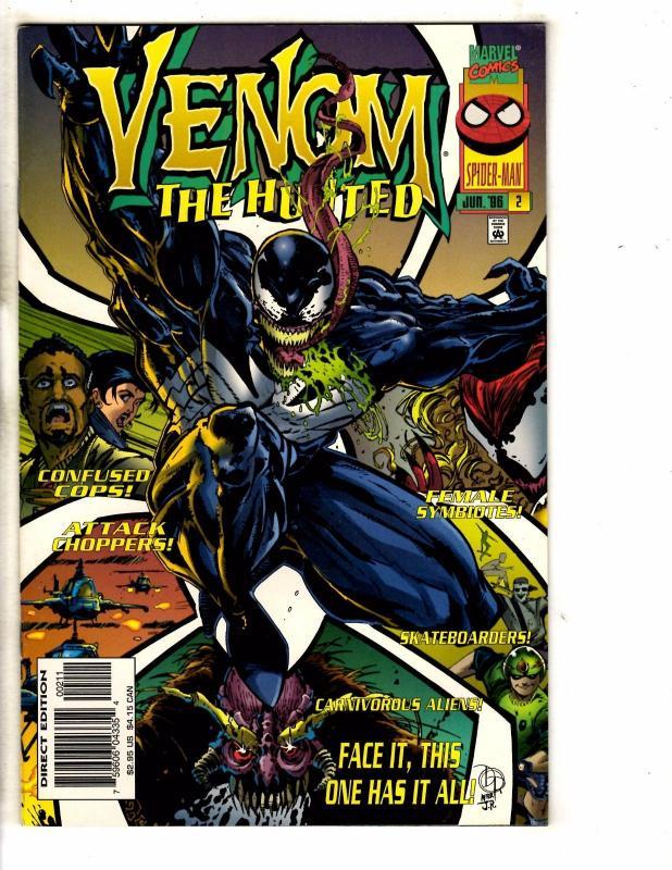 NM- VENOM THE HUNTED #1-#3 SET SPIDER-MAN